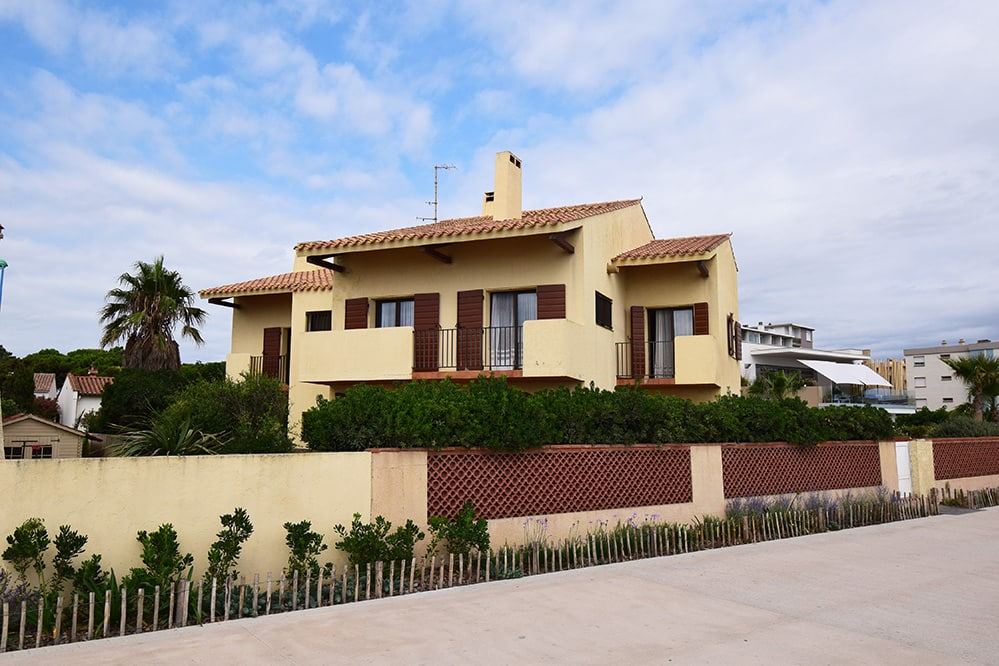 vente villa front de mer 66750 Saint Cyprien